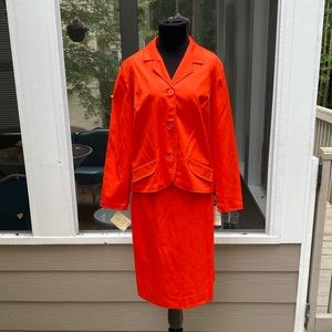 Deadstock NWT Vintage 60s 7Os Pencil Skirt Suit